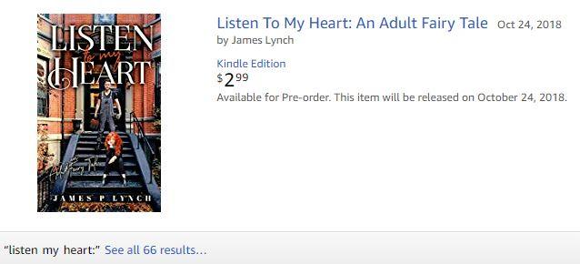 Listen to my heart Amazon Posting