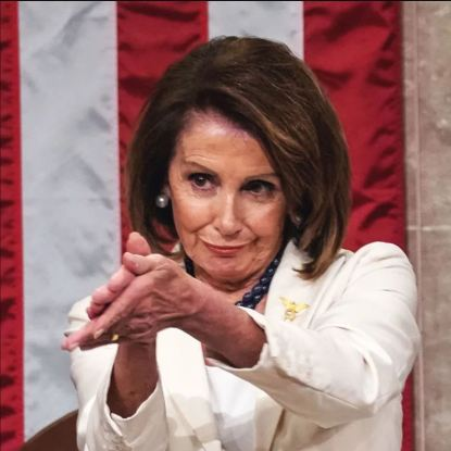 Nancy Pelosy Clapping